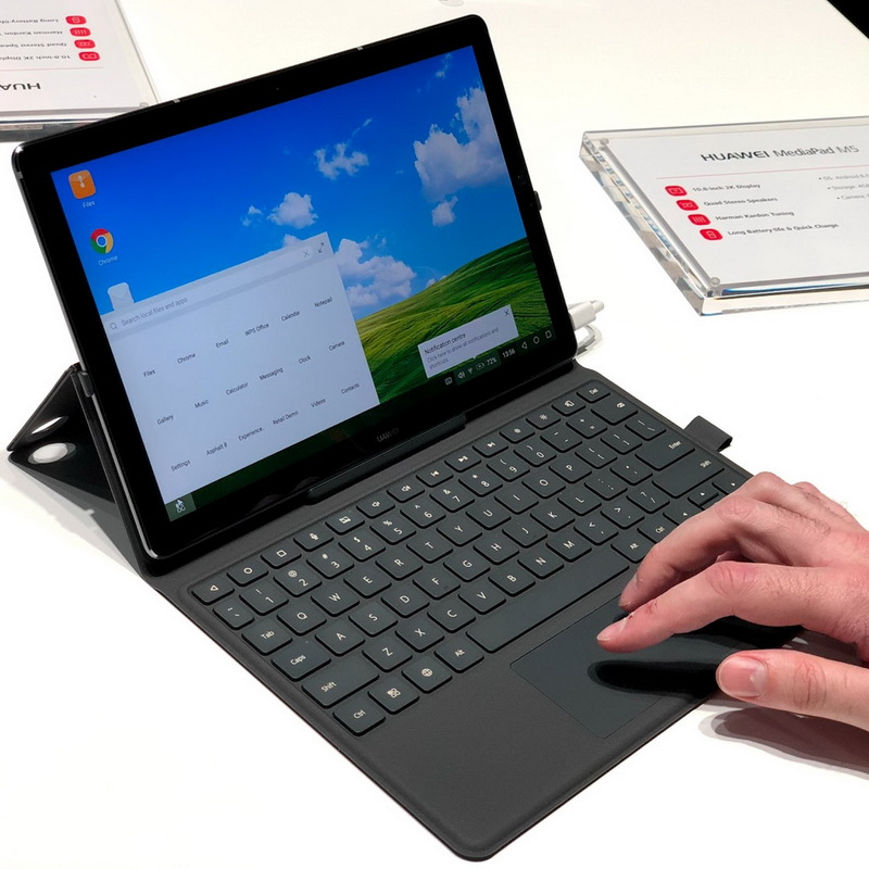 MediaPad M5 Pro-режим десктопа