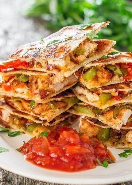 Мексиканская тортилья 6