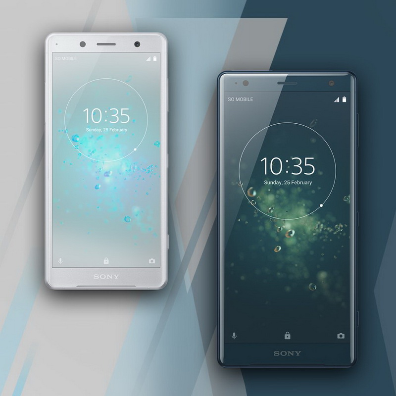 Новинки MWC-2018-Sony Xperia XZ2 и Xperia XZ2 Compact
