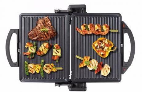 Новый тренд кухонной техники_лучшие электрические грили-барбекю для квартиры - гриль bosch открытый