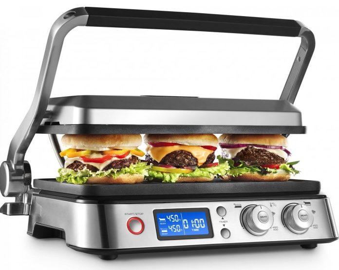 Новый тренд кухонной техники_лучшие электрические грили-барбекю для квартиры - гриль delonghi
