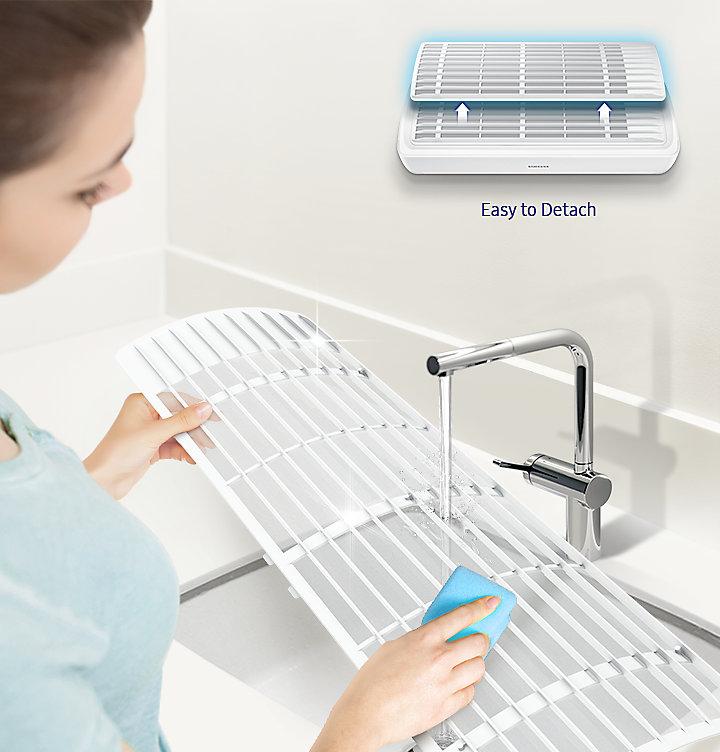 Обзор новых кондиционеров Samsung с инновационной технологией Wind Free - легкая чистка фильтра