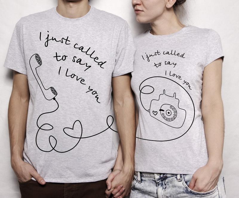 Парные футболки-идея