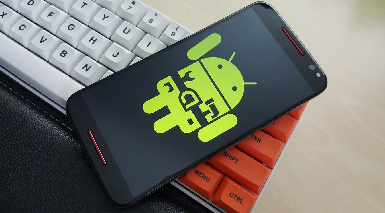 Преимущества смартфонов на чистой ОС Android - андроид на клавиатуре