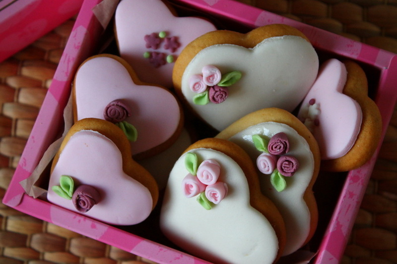 Пряничные валентинки-вкусные идеи фото 1