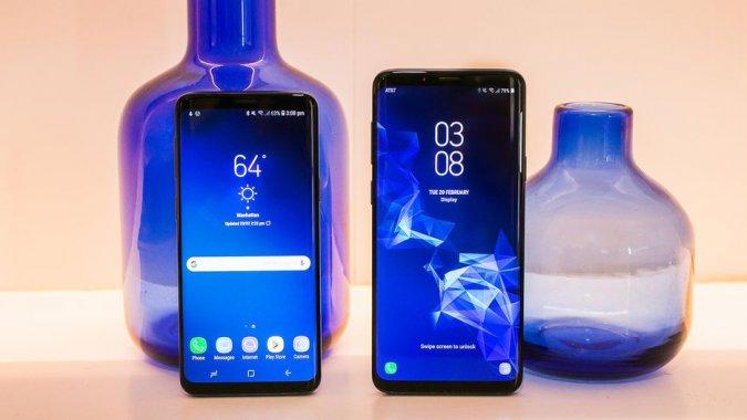 Samsung Galaxy S9 и S9 Plus Black-дизайн