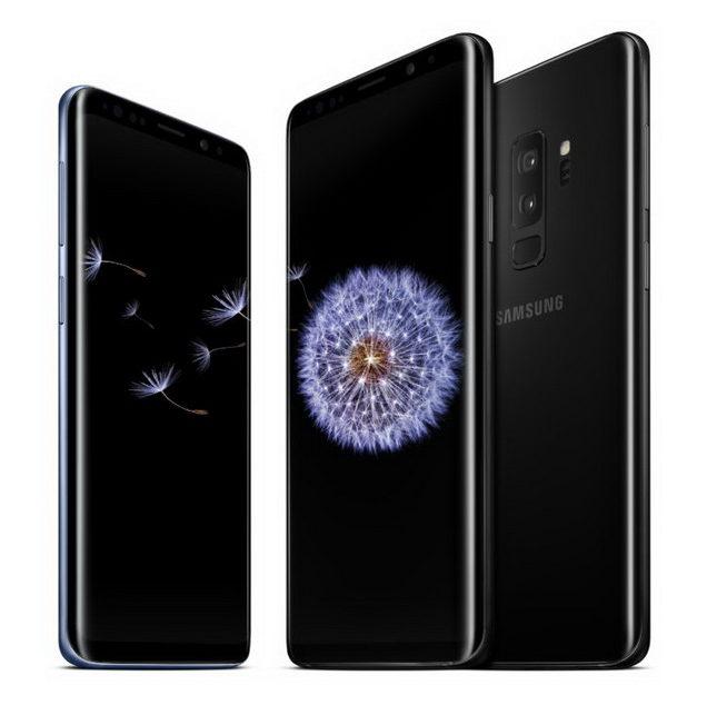 Samsung Galaxy S9 и S9 Plus Black-ракурсы