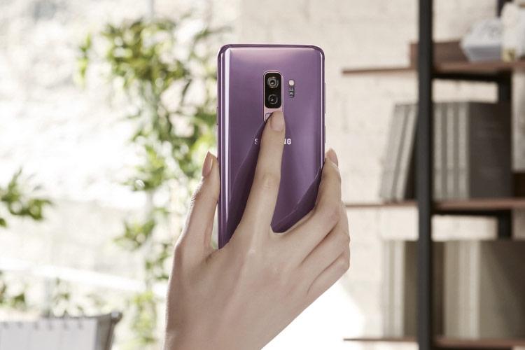Samsung Galaxy S9 и S9 Plus-эргономика