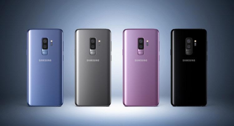 Samsung Galaxy S9 и S9 Plus-расцветки