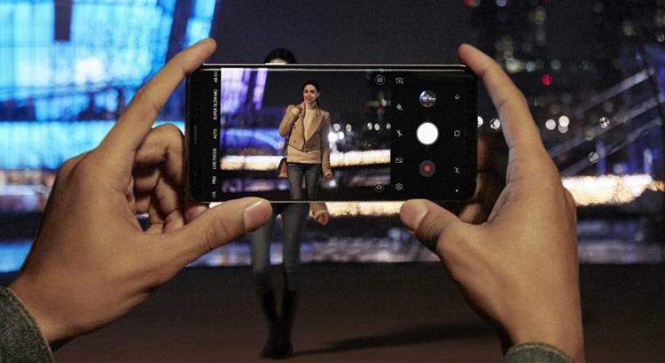 Samsung Galaxy S9 и S9 Plus-съемка