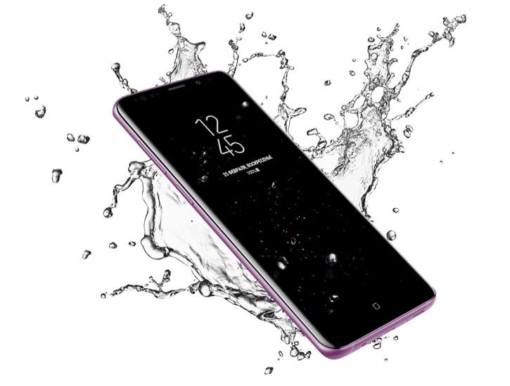Samsung Galaxy S9 и S9 Plus-защита от воды