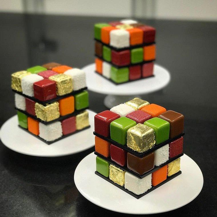 Сладкий кубик Рубика-от Cedric Grolet
