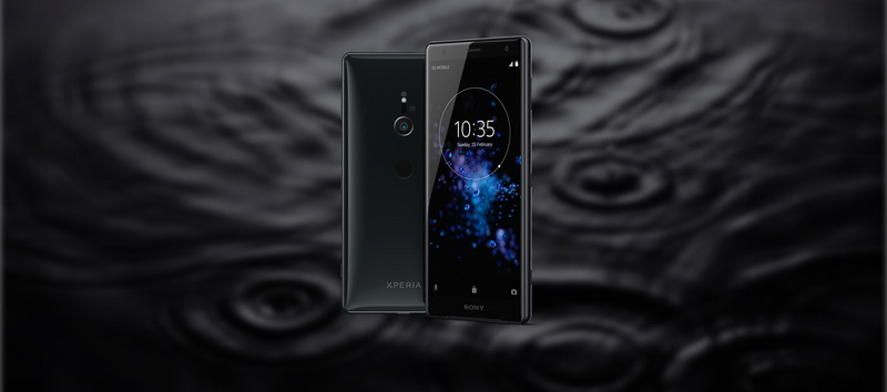 Sony Xperia XZ2-черный обсидиан