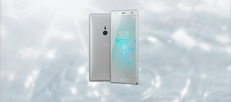 Sony Xperia XZ2-холодное серебро