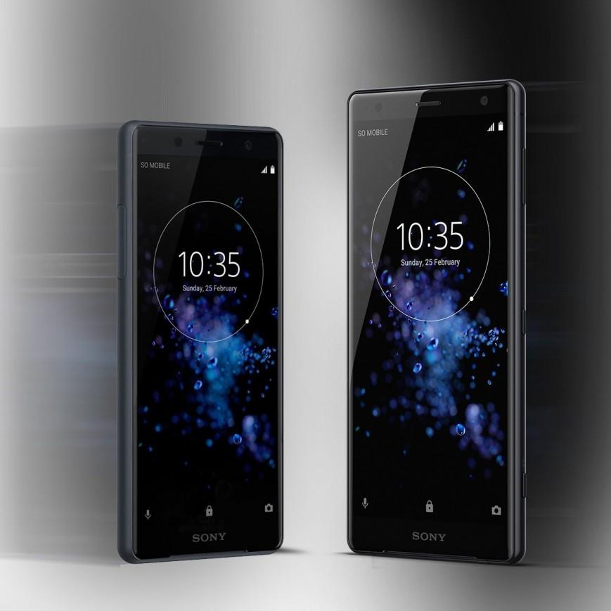 Sony Xperia XZ2 и Xperia XZ2 Compact-два смартфона