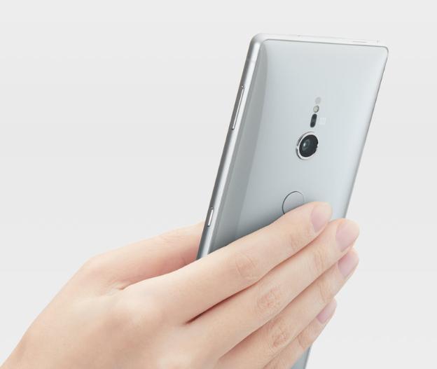 Sony Xperia XZ2-сканер отпечатков пальцев