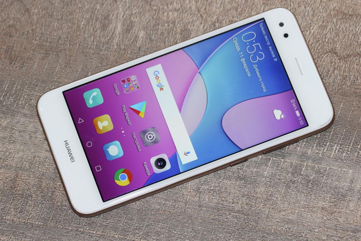 Топ-9 бюджетных смартфонов на февраль 2018 - Huawei Nova Lite 2017