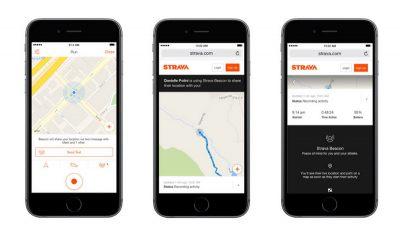 Приложение на Андроид для бегунов Strava
