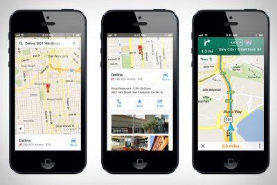 Бесплатное приложение на Андроид Гугл карты