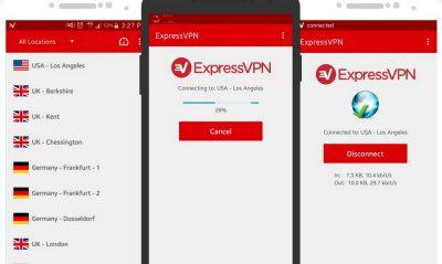 Приложение на Андроид EXPRESSVPN