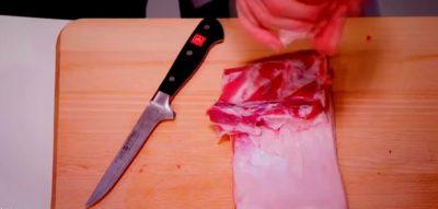 Пристосування для оброблення м'яса