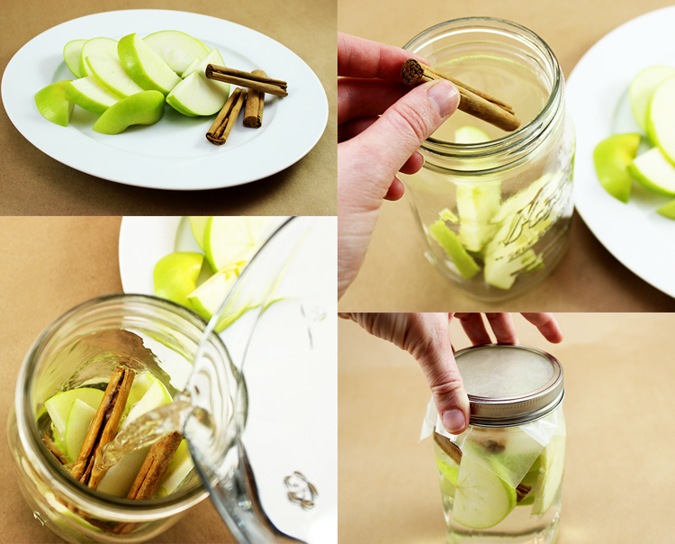 Detox waters-apple