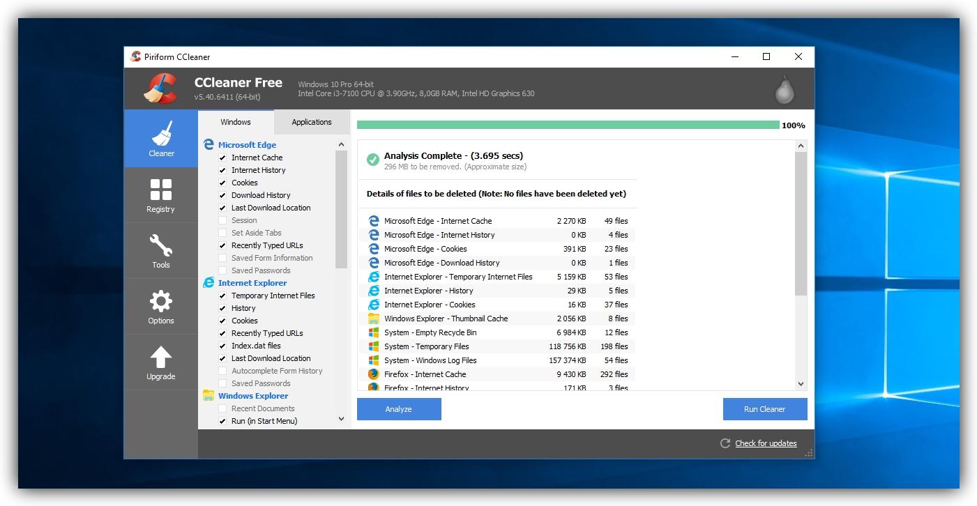 Эффективные способы чистки диска в Windows - временные файлы сторонних программ