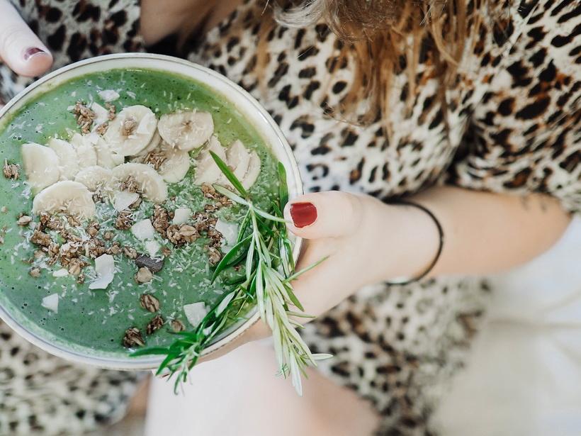 Green Smoothie Bowl-photo