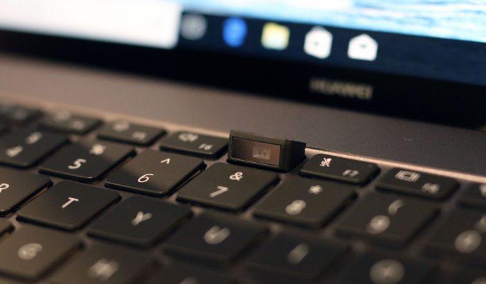 Huawei MateBook X Pro-камера в клавиатуре