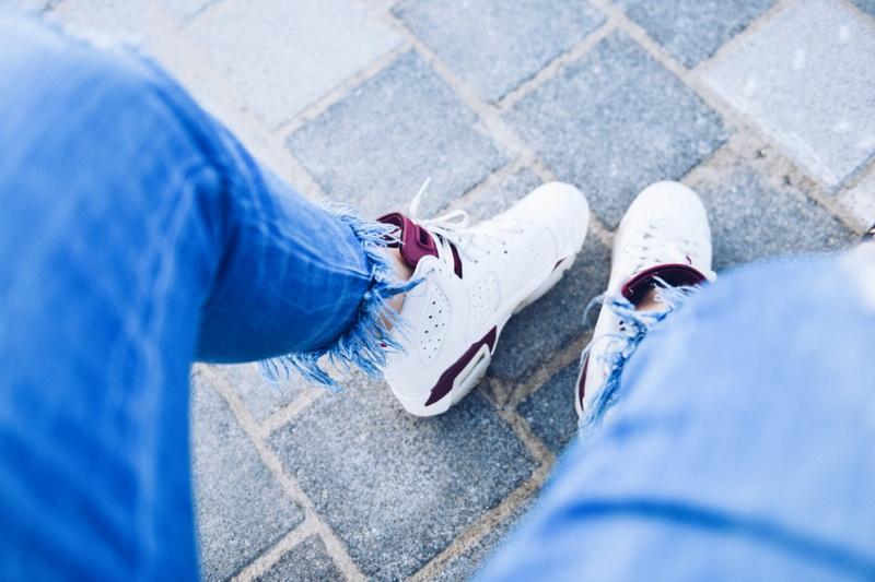 Кроссовки-прогулки в марте