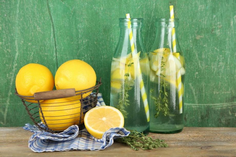 Лимонная вода-натощак