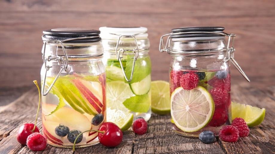 Photo-detox water
