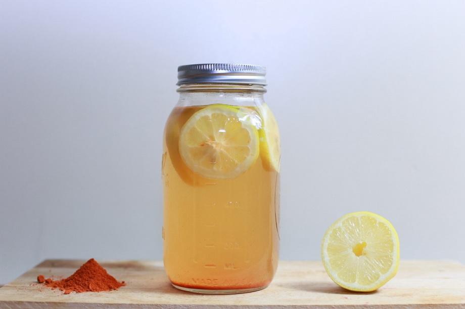 Полезная вода с лимоном-здоровый образ жизни