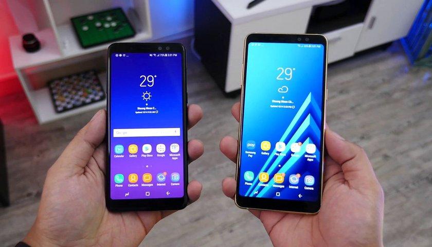 Топ-5 смартфонов на Android - Samsung Galaxy A8 и A8+