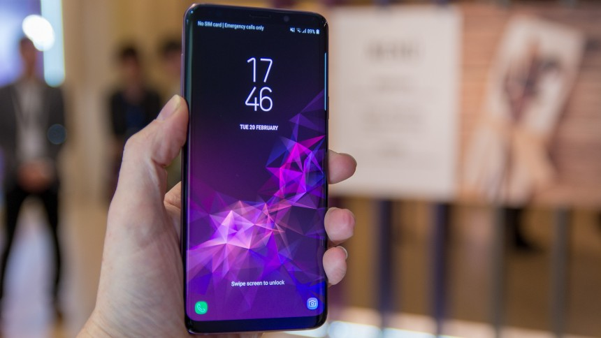 Топ-5 смартфонов на Android - Samsung Galaxy S9+
