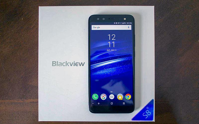 Топ-5 смартфонов на Android из Поднебесной - Смартфон Blackview с коробкой