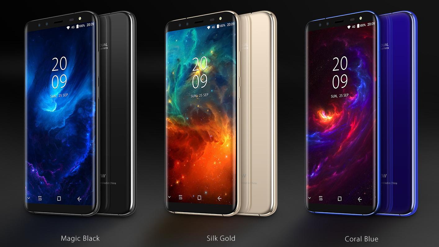 Топ-5 смартфонов на Android из Поднебесной - Смартфон Blackview в разных цветах