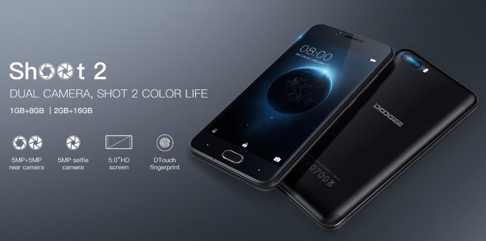 Топ-5 смартфонов на Android из Поднебесной - Смартфон Doogee параметры