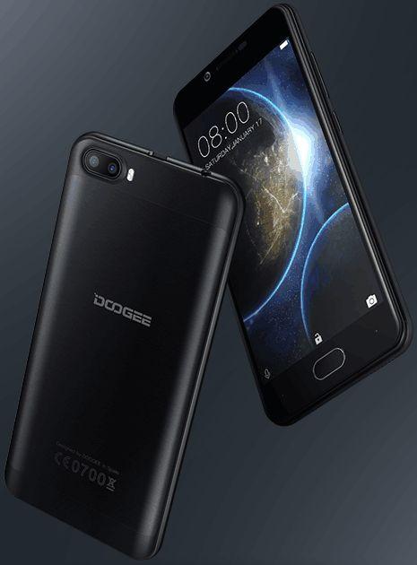 Топ-5 смартфонов на Android из Поднебесной - Смартфон Doogee в черном цвете