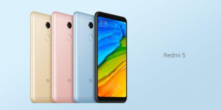 Топ-5 смартфонов на Android из Поднебесной - Смартфон Xiaomi в разных цветах