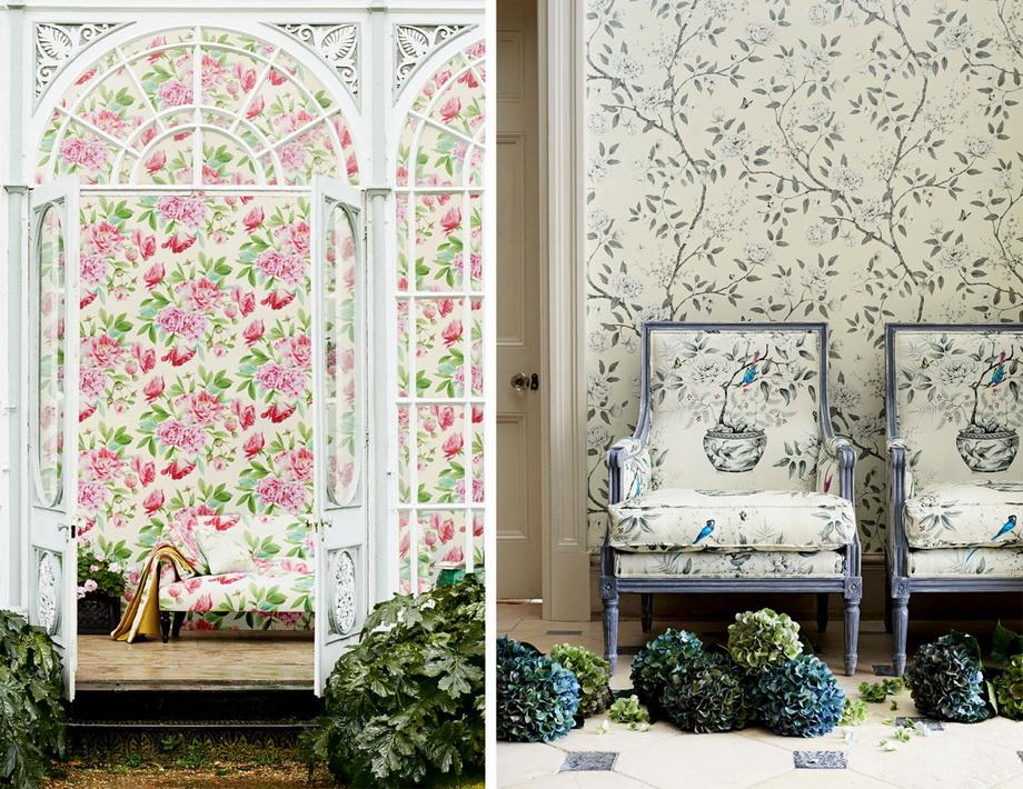 Весенний интерьер-цветочная тематика