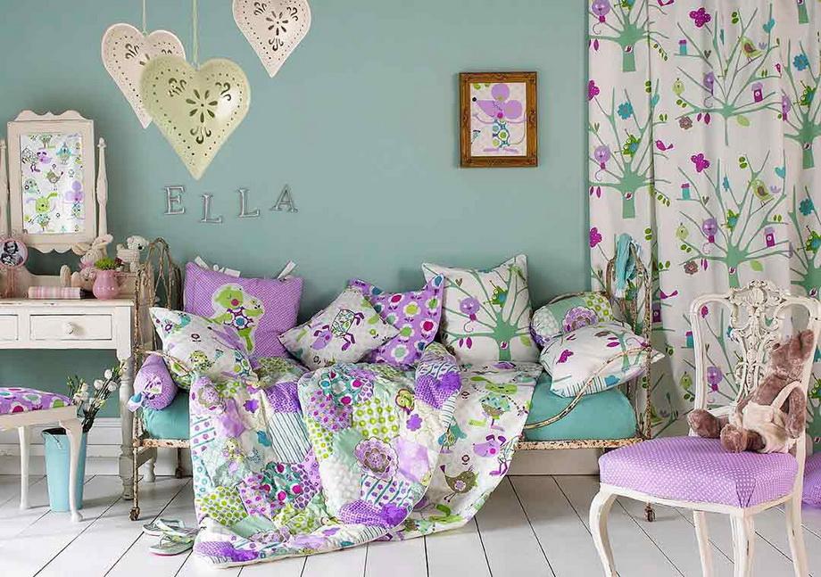 Весна в спальне-дизайн
