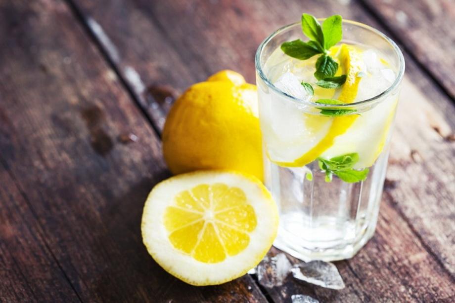 Вода с лимоном-ЗОЖ