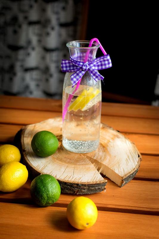 Вода с лимоном-правильное питание