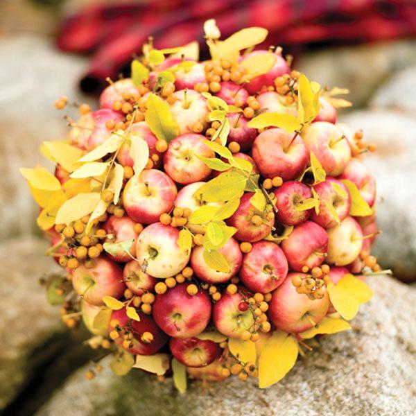 Яблочный букет-вкусный креатив