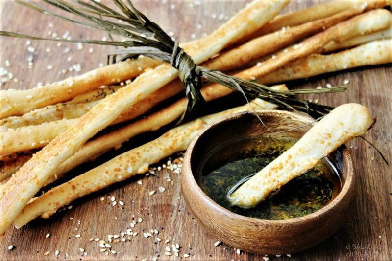 Гриссини-хлебные палочки