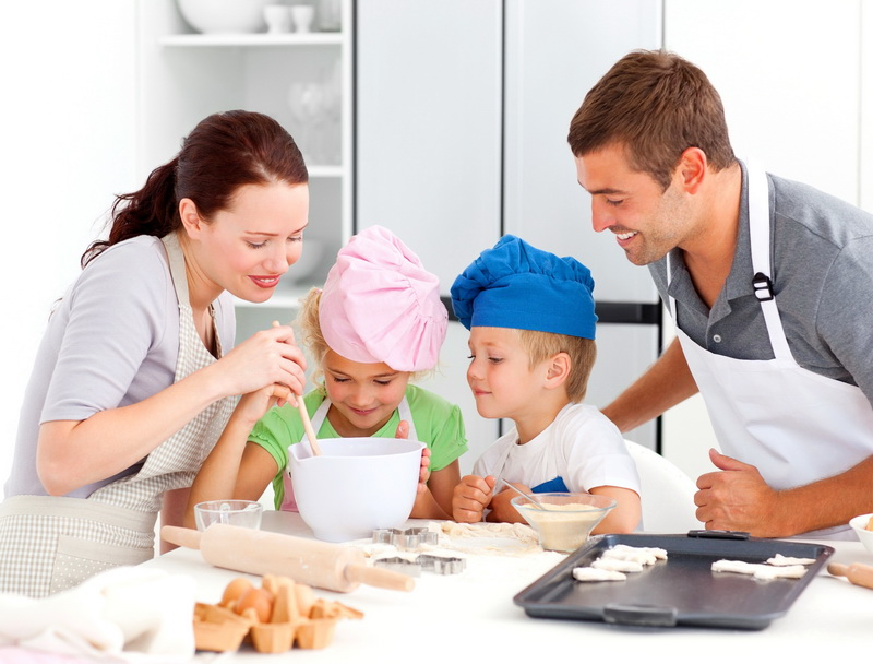 Кулинарный мастер-класс-семейный досуг