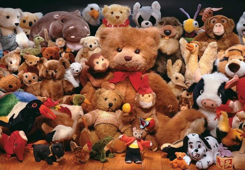 Мягкие игрушки-коллекция