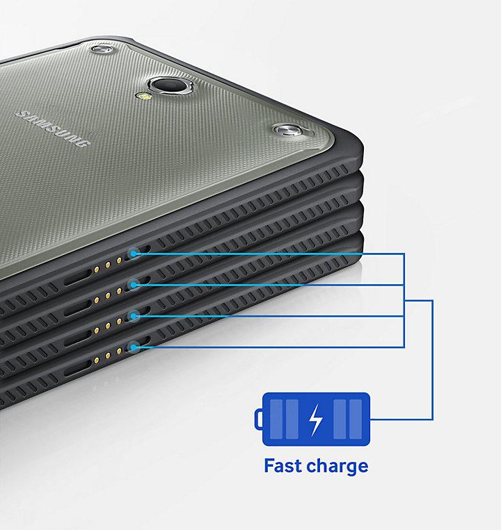 Обзор планшета Samsung Galaxy Tab Active 2 - быстрая зарядка