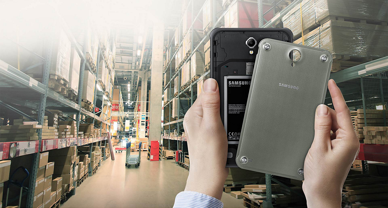Обзор планшета Samsung Galaxy Tab Active 2 - съёмный аккумулятор